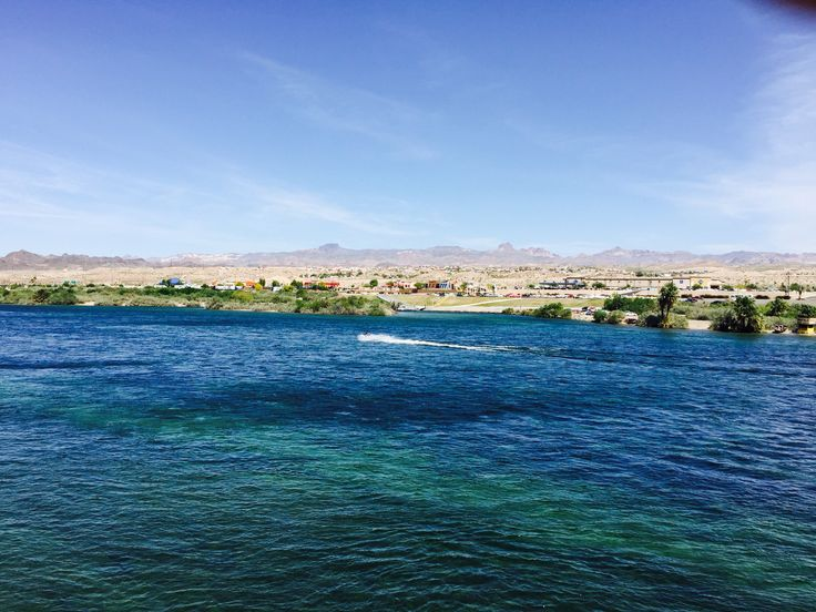Colorado River and view of Bullhead City, AZ