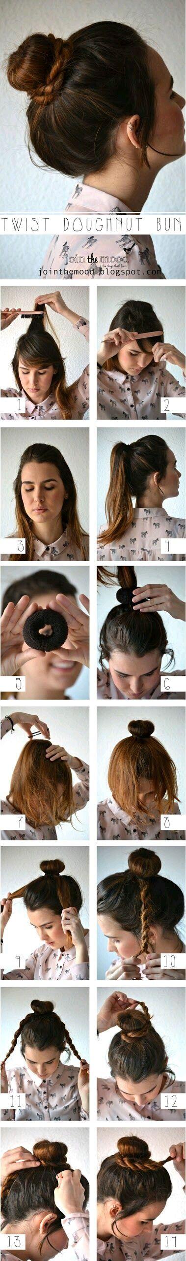 peinado recogido diario