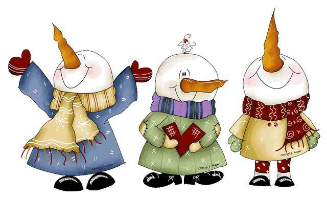 muñecos de nieve 4 | TERNURITAS DE LA RED