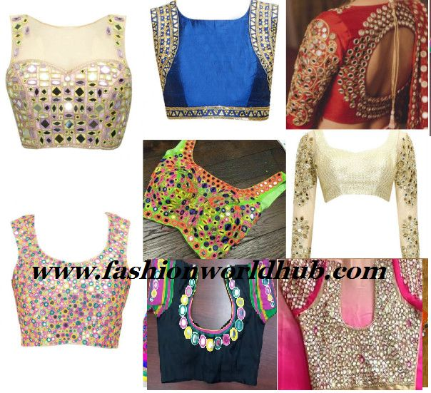 Mirror work blouse designs have become fashion now. When a mirror work blouse is…