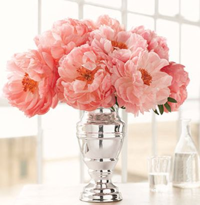 peonies of course