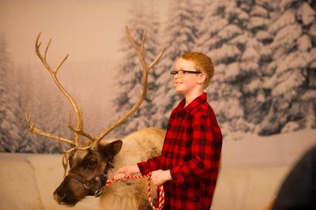 Reindeer Visits at the 2015 International Christmas Market, presented by TELUS #NoelSM