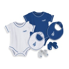 Any future spawn I might give birth to are coming home in Dodger gear!