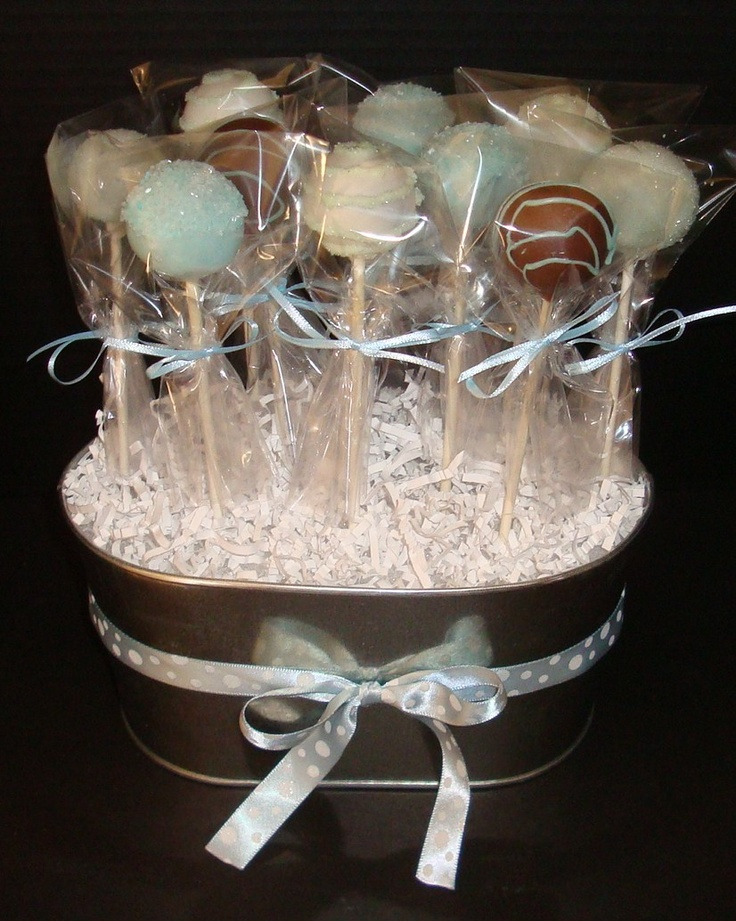 Cake Pop Centerpieces - Kasey this one is really cute