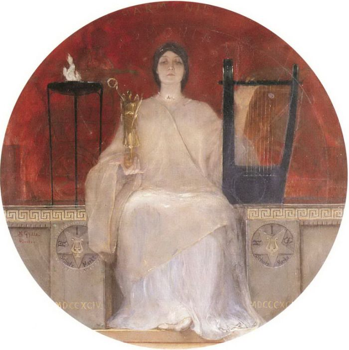 .:. Γύζης Νικόλαος – Gyzis Nikolaos [1842-1901] Αρμονία 1