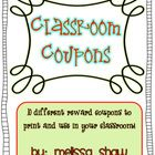 Here are 10 great coupons for intermediate grades that could also be used in primary!  I really wanted to implement this in my classroom, but I was...