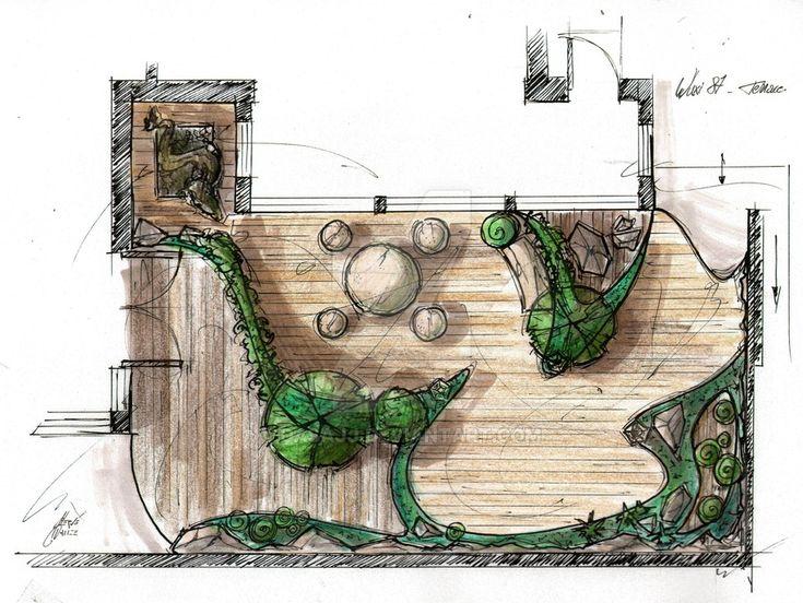 Garden Layout rendering