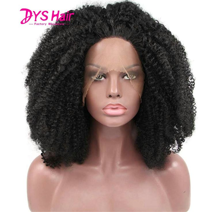 42.97$  Buy here  - Short Black Wigs Afro Kinky Curly Synthetic Lace Front Wig Glueless Lace Wigs Perruques Synthetic Femme Peruca Front Lace Wigs