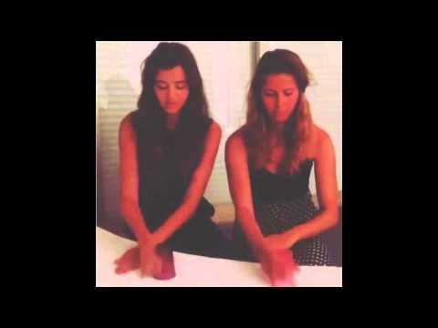 eleanor and her friend doing the cup song!! i really can't explain to you how much i love her.