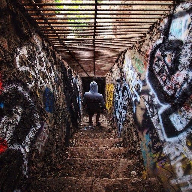 Explored An Old Abandoned Zoo From The 1920's A Couple Of