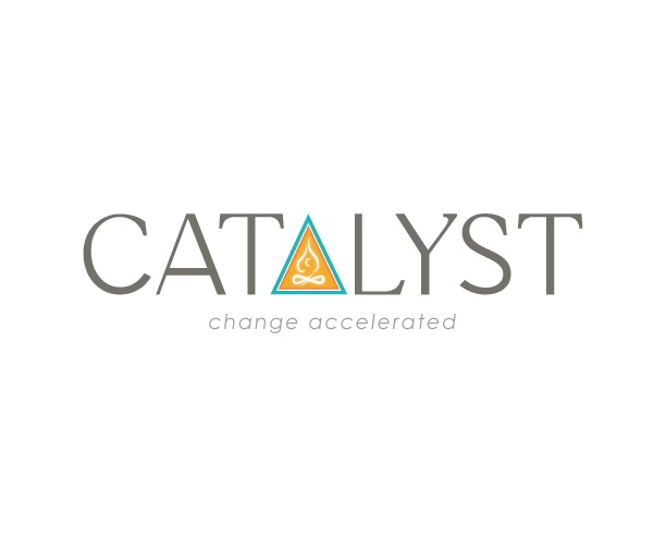 Final logo design for Catalyst Coaching.  A life coaching company based in Texas