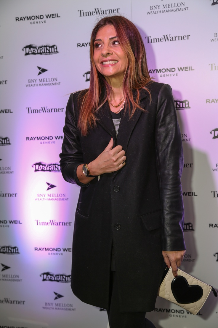 Raymond Weil - Labrynth Theater Celebrity Charades 2013 - Callie Thorne