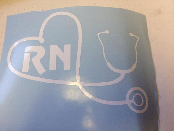 Rn 3 Nurse Decal Window Car Sticker 6 Quot Nursing