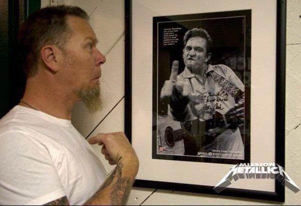 Johnny Cash & James Hetfield