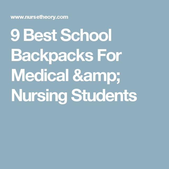 9 Best School Backpacks For Medical & Nursing Students