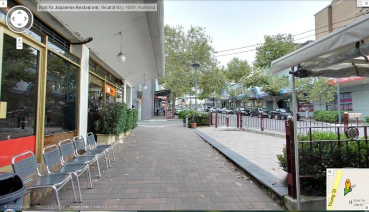 99Tasks.com - Concept - Internal panorama view of Koh-ya Japanese Restaurant located at Neutral Bay, NSW, Australia