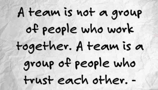 RandiDesigns by Rand | LinkedIn: It takes teamwork to make the dream work! TEAM=Trust, Experience, Availability and Materialization :)