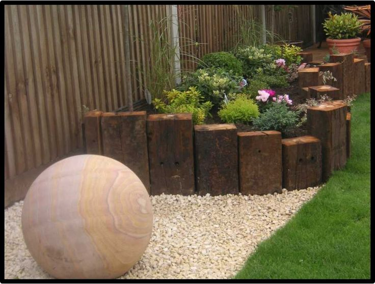 Image result for us oak 2.6m sleepers garden