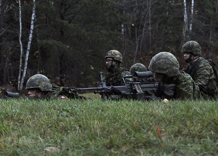 The Soldiers of 33 Canadian Brigade Group Train in the Fundamentals