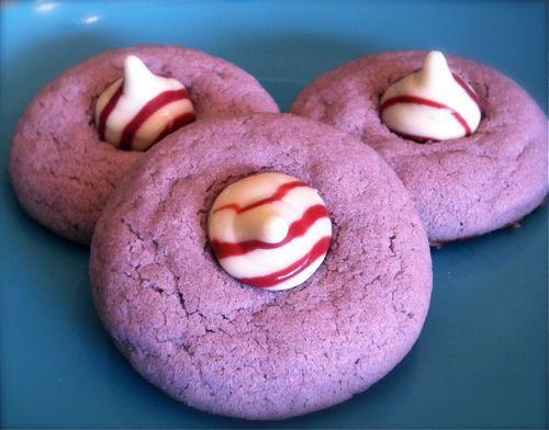 Purple Zebra Cookies - One Project Closer