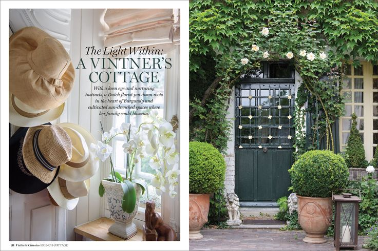 French cottage french cottages pinterest french for French country cottage magazine