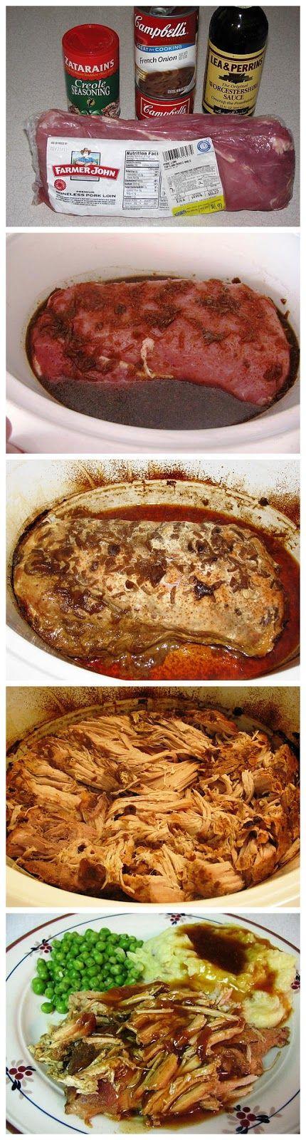 super easy crock pot pot roast
