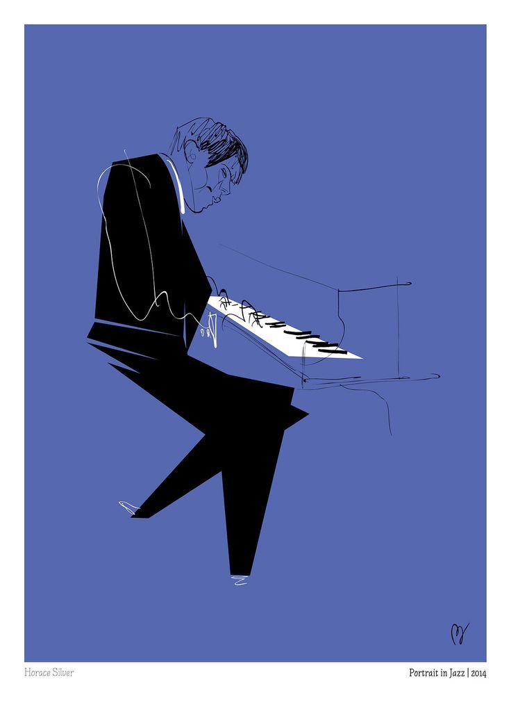 Horace Silver | murales | Pinterest | Jazz, El jazz y Musica