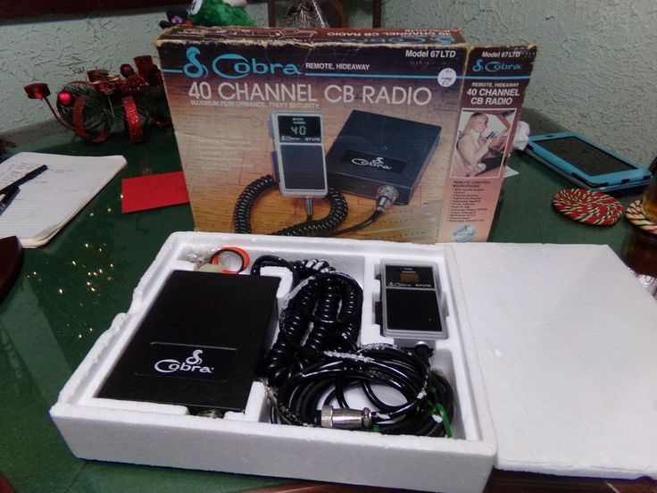 484 best radio stuff citizens band images on pinterest radios vintage cobra model 67ltd 40 channel cb radio never used mib cobra sciox Gallery