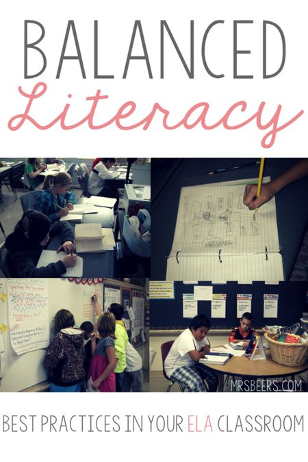 Balanced Literacy: Best Practices for your ELA Classroom