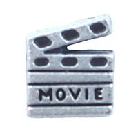 South Hill Designs Silver Movie Charm Create your story at http://www.southhilldesigns.com/faithncharms
