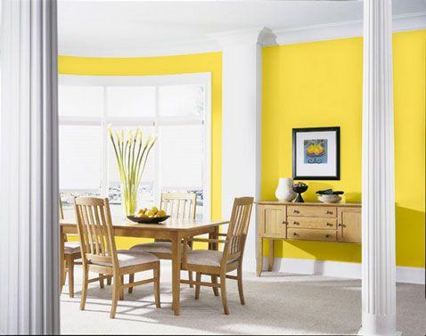 1000 id es sur le th me jaune peintures murales sur pinterest murs jaunes couleurs de for Peinture murale jaune
