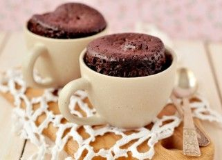 Supersnel chocotoetje! 1.5-2 min op 900W in magnetron  1 ei  1 banaan  1 el cacao (honing) 1 tl bakingsoda 1 tl azijn/citroensap