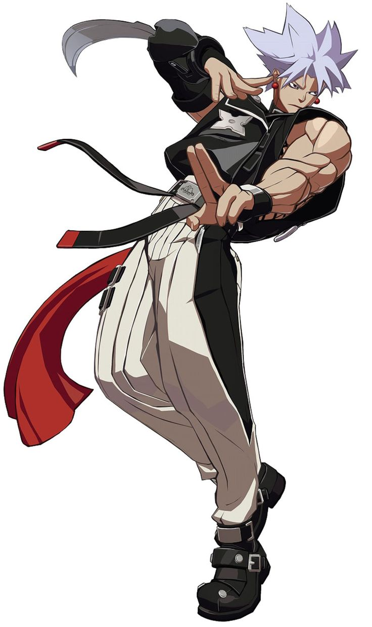 Chipp Zanuff from Guilty Gear Xrd -Sign-