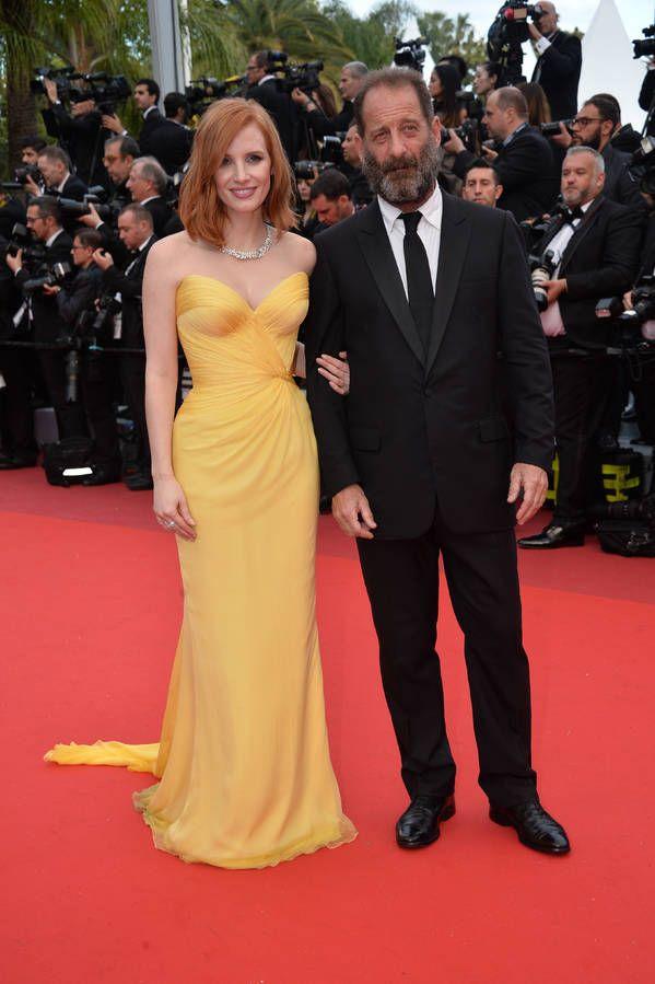 Jessica Chastain et Vincent Lindon Cannes  2016