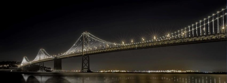 Dream huge!  If you've got an idea for a project on a massive scale, why not give it a shot? Artist Leo Villareal thought big and created the Bay Lights, an installation of over 25,000 white LED lights that illuminate the north face of the Bay Bridge and pulse to rhythms orchestrated by the artist.  See Villareal discuss the Bay Lights by clicking this image!