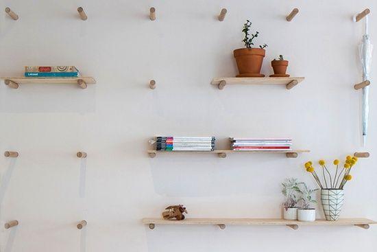 genius shelves #DIY #crafts