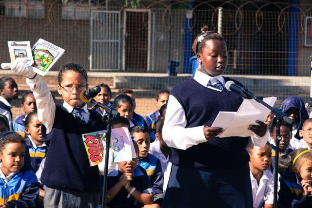 Learners of Eisleben Road Primary