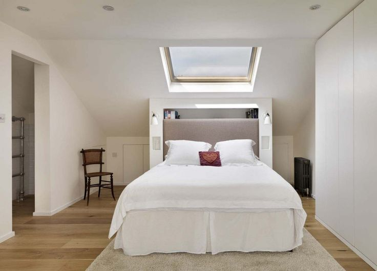 Magnificent Attic Bedroom Ideas With Hardwood Floors And White Wall Colors…