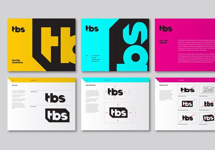 Manual corporativo de la marca tbs, nos encanta su colorido #manual #corporativo #brandgourmet