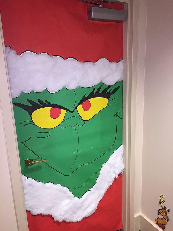 2014 UC Door Number 14 One of the BEST things about this door (besides Max & 16 best UC Holiday Doors images on Pinterest   Door numbers Fiesta ...