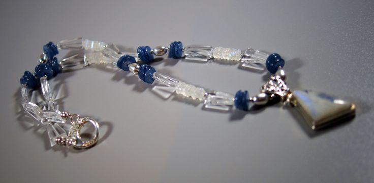 Moonstone & Kyanite Necklace