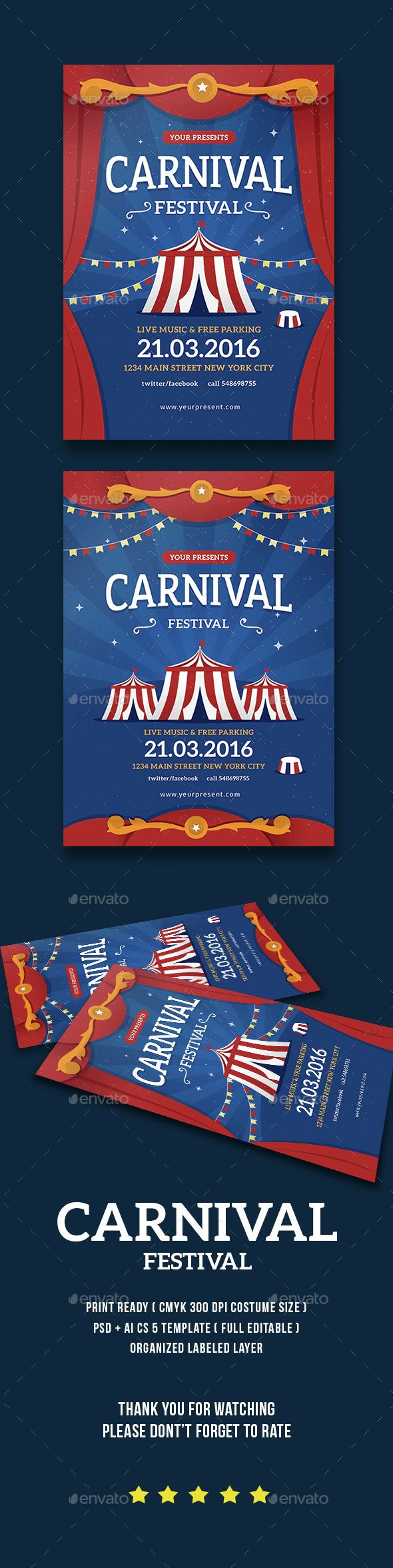 17 best ideas about flyer printing flyer template carnival festival flyer poster