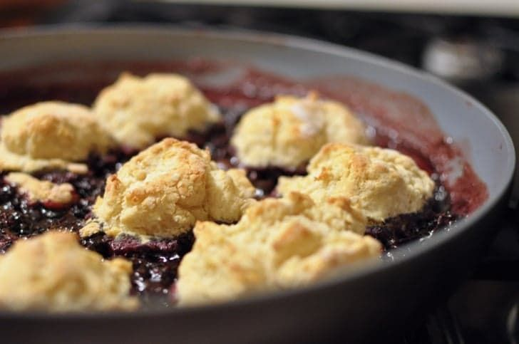 Pin for Later: 24 Smashing Red, White, and Blue Desserts Blackberry Grunt Get the recipe: blackberry grunt