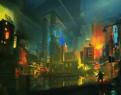 "Check out new work on my @Behance portfolio: ""City"" http://on.be.net/1Iw4IZi"