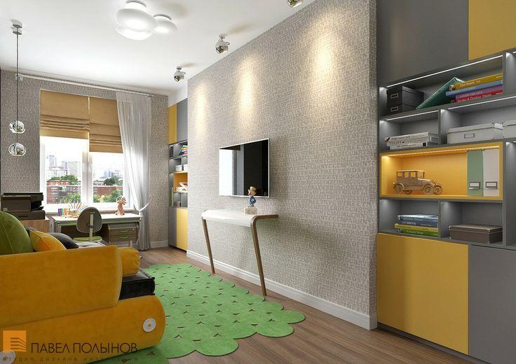 Дизайн комнаты для подростка - трехкомнатная квартира в ЖК Парадный квартал