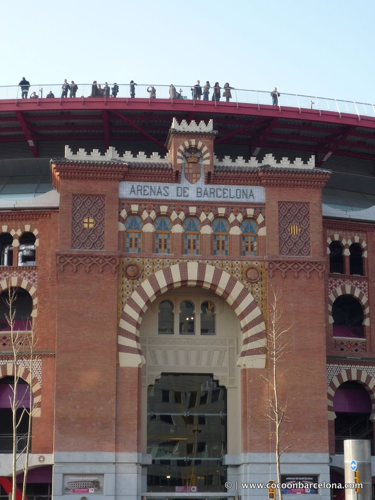 Las Arenas Barcelona is a former bull fighting ring, which has been transformed into a fabulous shopping mall featuring a 360º roof-top skywalk terrace with panoromic city views. Open daily except Sundays from 10am to 10pm. In the summer Arenas shopping centre is also open on Sundays from 10am to 6pm from mid-July to mid-September