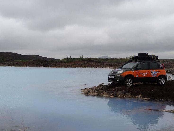 Fiat Panda 4x4 odkrywa Islandię!