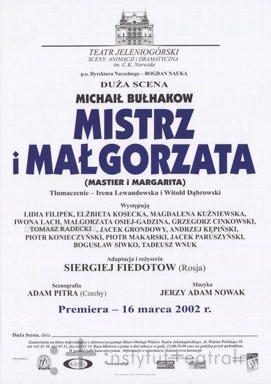 2002 - Teatr Jeleniogórski, Jelenia Góra, Poland
