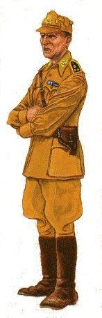 Regio Esercito - Uniformi della Regia Guardia di Finanza -  Tavole Uniformi