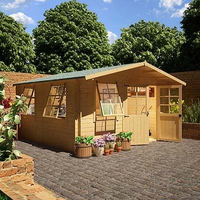 BillyOh Log Cabin Workshops - Wooden Sheds - Garden Buildings Direct
